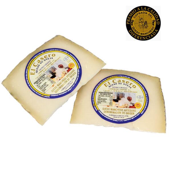Comprar Queso DO La Mancha Semicurado Piqmar