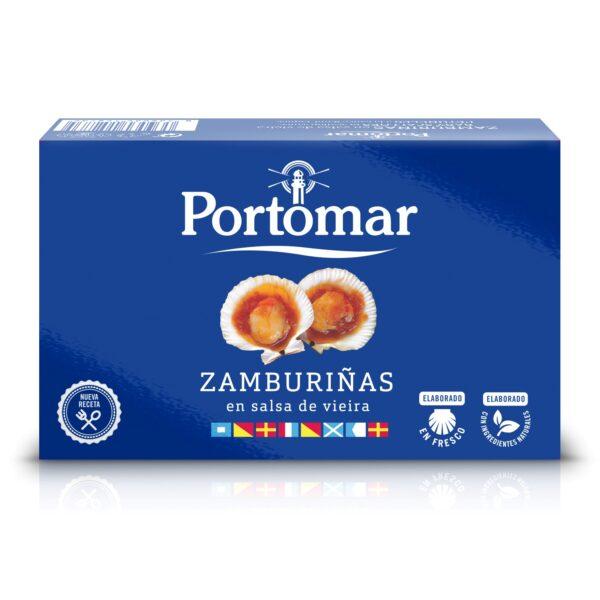 Zamburiñas en salsa de Vieira