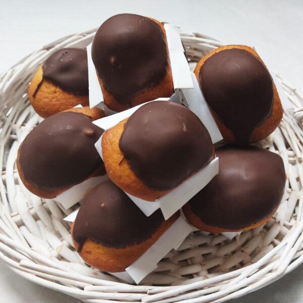 Magdalenas artesanas de chocolate